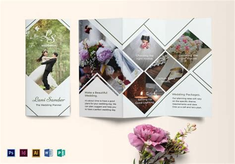 wedding brochure psd 20 wedding planner brochure free psd ai eps format