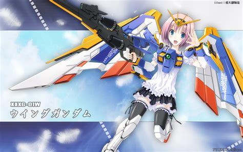 wallpaper gundam girl gundam wing girl mobile suit gundam wing wallpapers