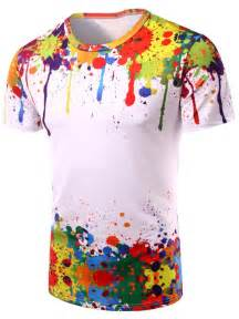 colorful shirt t shirts colormix 3d colorful splatter paint