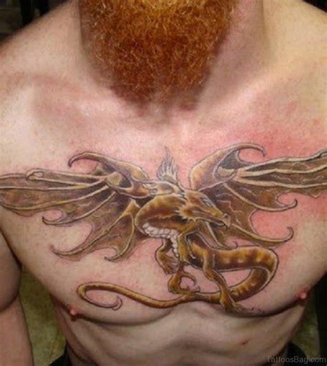 simple dragon tattoo 80 modish tattoos on chest