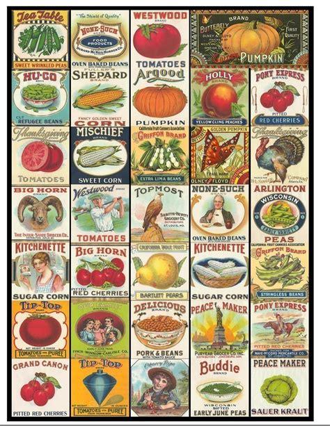 printable vegetable labels 7 best images of vintage vegetable labels printable