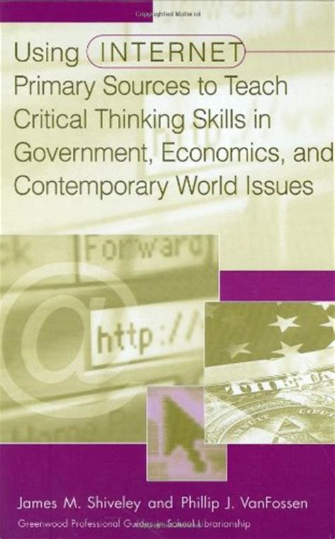 the about economics a critical thinking guide for students parents teachers and citizens books teaching critical thinking skills