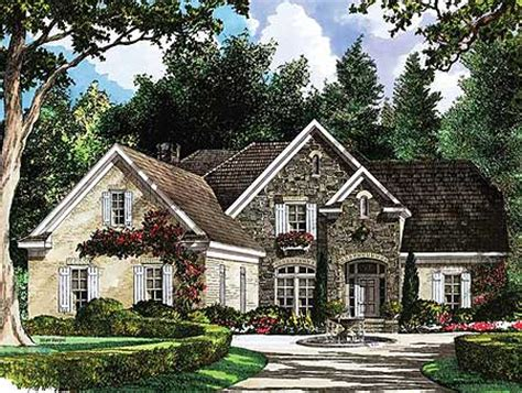 european country cottage plan 5482lk 1st floor master