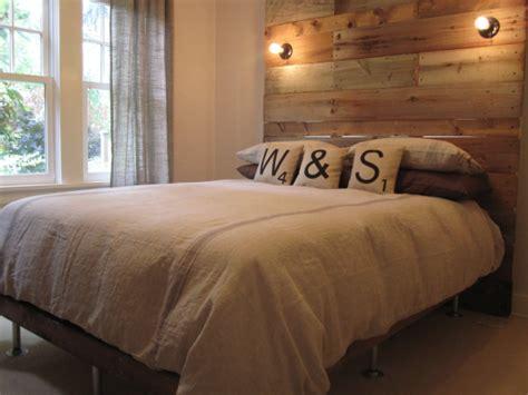 diy headboard frame 18 gorgeous diy bed frames the budget decorator