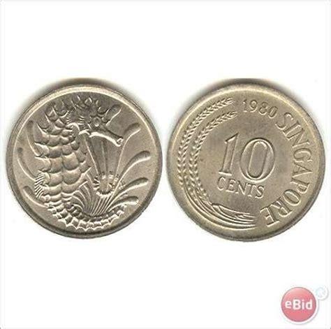 Mata Uang Koin jual koin mata uang kuno 10 sen singapura tahun 1973