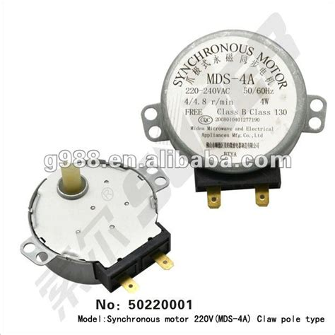 Motor Synchronous Microwave microwave oven synchronous motors 220v mds 4a microwave