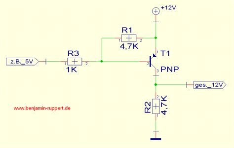 transistor pnp als schalter letzter beitrag shooter