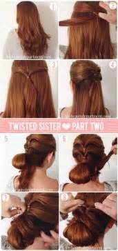 hair style step by step pic hairstyles step by step