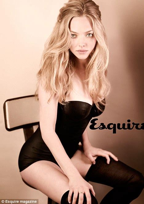 amanda seyfried how old is she how does amanda seyfried look this good by eating an