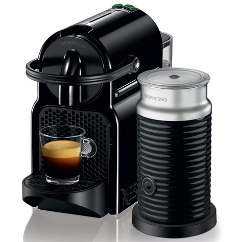 delonghi nespresso inissia black coffee machine s of kensington