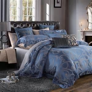 2015 new royal bedding sets 4 pcs silk and lyocell fabric