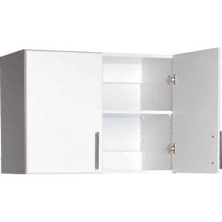 elite  stackable wall cabinet white walmartcom