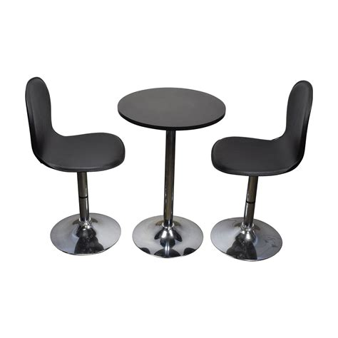 target table and chairs 79 off target target cafe table and leather chairs tables