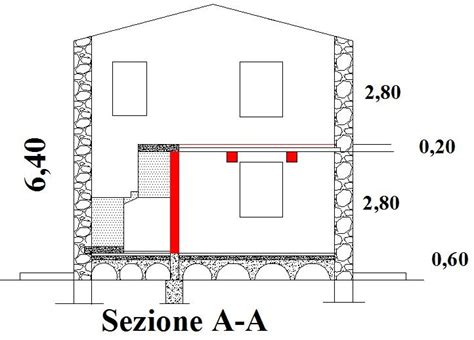 Come Demolire Un Muro In Cemento Armato by Ristrutturare Una Casa Pozzo Scale Interno Muro Portante