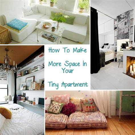 how to make more storage in a small bedroom how to make more space in your tiny apartment just