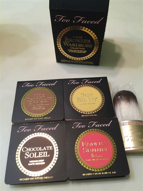 Faced Bronzing Wardrobe by Review Faced 5 Bronzer Wardrobe Narr S World