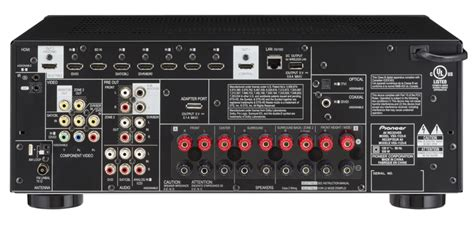 Receiver T21 Multi Hd vsx 1123 k 7 2 channel multi zone networked av receiver