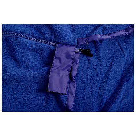 schlafsäcke basicnature fleece schlafsack mumienform inlay buy