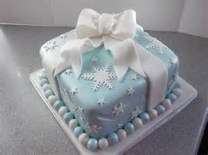snowflake present christmas cake pictures photos and images for facebook pinterest