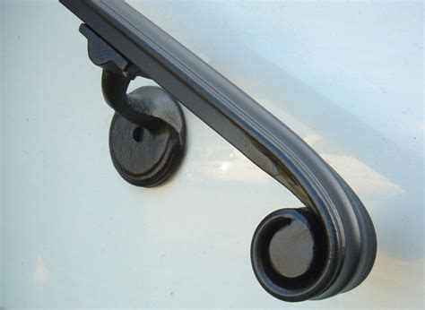 wall wall mounted hand rails iron handrail for stairs interior wall mount iron
