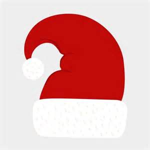 Illustration of a hat worn by santa claus during christmas season
