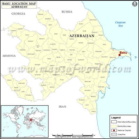 where is azerbaijan on a world map baku azerbaijan map images