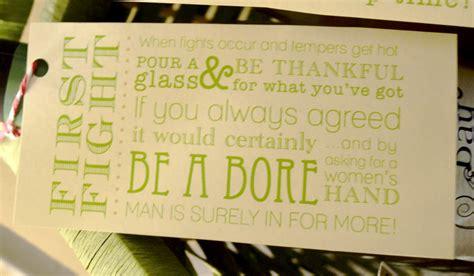 wine bottle poem bridal shower gift bridal shower gift tag quotes quotesgram