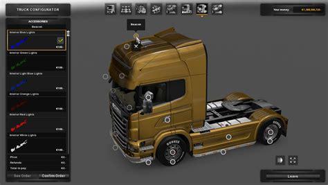 light interior interior light 1 22 x ets2 truck simulator 2 mods