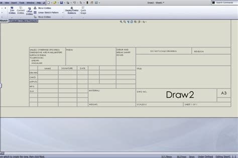solidworks drawing template request drawing boarders with title blocks a3 a2 a1 a0