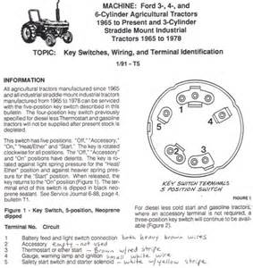 ford 3600 ignition switch wiring diagram ford wiring diagram