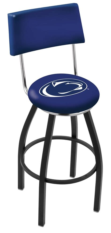 penn state bar stool w official college logo family leisure