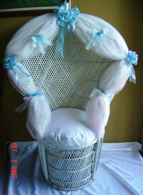 Baby Shower Wicker Chair by Wicker Rentals In Miami