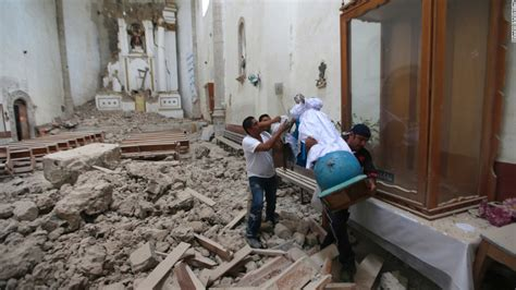 earthquake mexico earthquake in central mexico kills scores topples