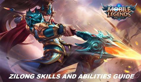 mobile legends zilongs skills  abilities guide