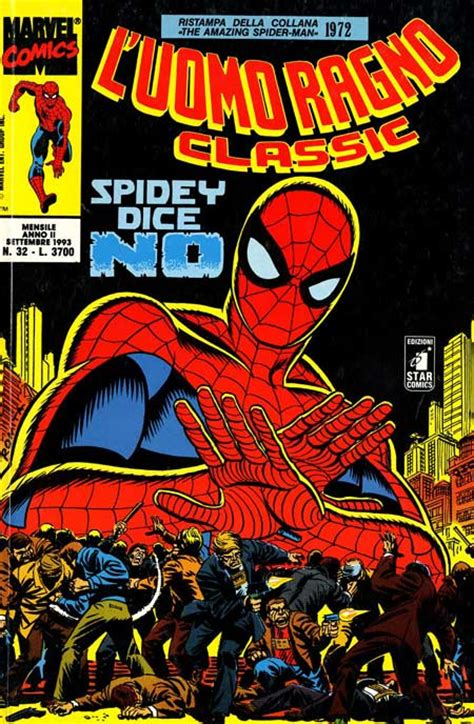 testo uomo ragno comics uomo ragno classic 32 l uomo ragno classic 32