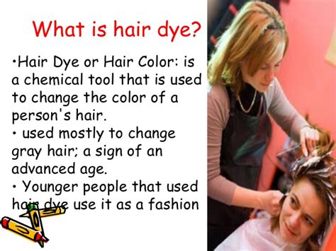 coloring hair power point hair dye presentation