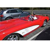 Spotted Candy Apple Red 1959 Corvette — InMenlo
