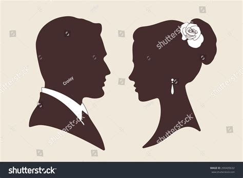 Wedding And Groom Vector by Vector Wedding Design Silhouettes Groom Stock Vector