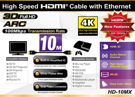 Px Hdmi Cable 10m Hd 10mx by Jual Px Hdmi Cable Hd 10mx Harga Kualitas