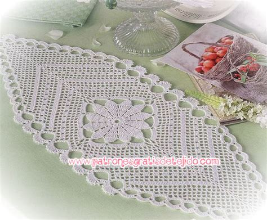 Carpeta De Crochet Patron Es | 17 patrones de carpetas crochet crochet y dos agujas