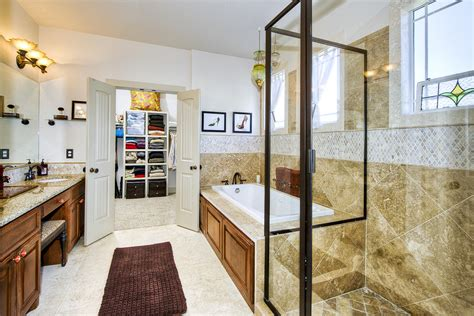 Bathroom With Walk In Closet Designs by Brown Rug For Small Bathroom And Walk In Closet Designs