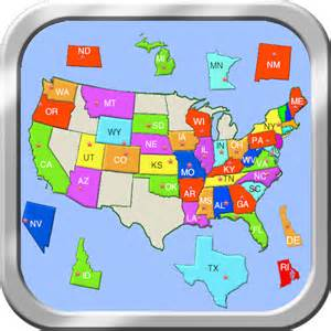 United States Puzzle Map by United States Puzzle Map On The App Store On Itunes
