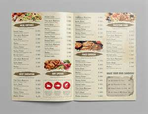 Menu Pdf Template by Restaurant Menu Template 20 Free Psd Eps Documents