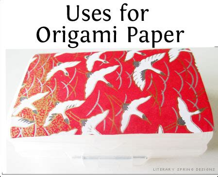 Uses Of Origami - uses for origami paper literary designs