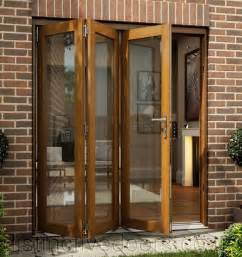 Cheap Patio Doors Uk Smoothfold Oakfold Fully Finished Folding Sliding Patio Doors