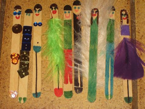 craft sticks project ideas you to see popsicle stick dolls on craftsy