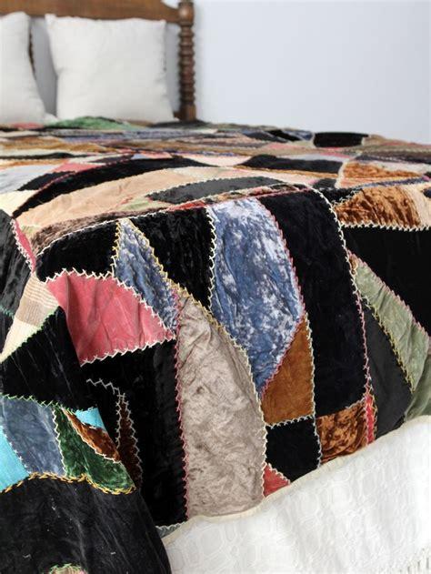 Velvet Patchwork Quilts - best 25 quilt stitches ideas on