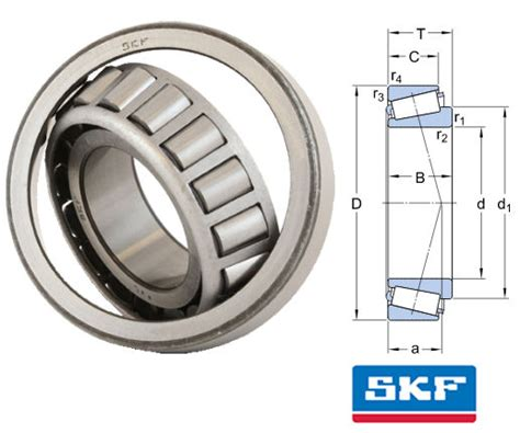 Tapered Bearing 33214 Skf 32208 j2 q skf tapered roller bearing 40x80x24 75mm taper roller bearings metric bearing king