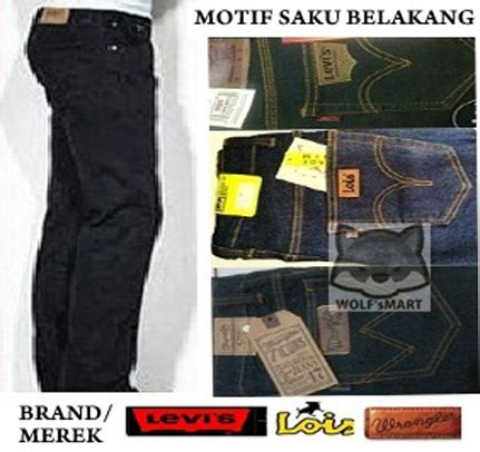 Celana Denim Fallas Regular Standar Fit Basic Size 27 32 jual celana levis lois wrangler psd dc model regular basic standar wr wolfsmart