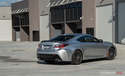 lexus rc f stance 2017 lexus rc f review video performancedrive